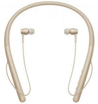 Casti Stereo Sony WIH-700N, Bluetooth, NFC (Auriu)