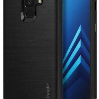 Protectie Spate Ringke Onyx pentru Samsung Galaxy A8 2018 (Negru)