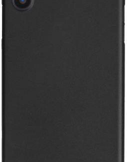 Protectie spate Zmeurino Class pentru iPhone X (Negru)