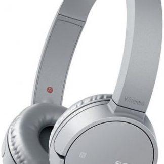 Casti Stereo Sony WH-CH500 Wireless, Bluetooth, NFC, Microfon (Gri)