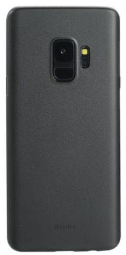 Protectie Spate Benks Lollipop pentru Samsung Galaxy S9 (Negru Transparent)