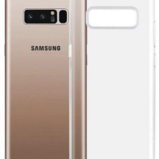Protectie Spate Zmeurino CLVSOFTNOTE8 pentru Samsung Galaxy Note 8 (Transparent)