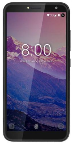 Telefon Mobil Kruger&Matz Move 8, Procesor Quad-Core 1.3GHz, IPS Capacitive touchscreen 5.5inch, 1GB RAM, 8GB Flash, 8MP, Wi-Fi, 3G, Dual Sim, Android (Negru)