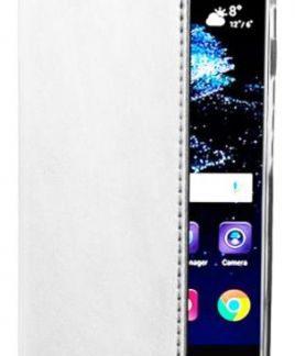 Husa Book Cover Zmeurino WALFOLCIX_P10WH pentru Huawei P10 (Alb)