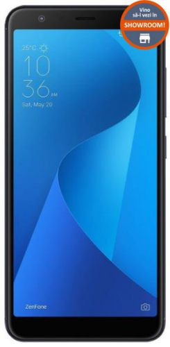 Telefon Mobil Asus ZenFone Max Plus M1 ZB570KL, Procesor Octa-Core 1.0GHz/1.5GHz, IPS Capacitive touchscreen 5.7inch, 3GB RAM, 32GB Flash, Camera Duala 16+8MP, Wi-Fi, 4G, Dual Sim, Android (Deepsea Black)