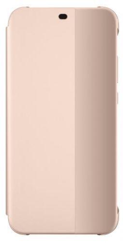 Husa Flip Cover Huawei 51992315 pentru Huawei P20 Lite (Roz)