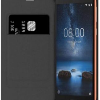 Husa Flip Cover Nokia CP-801 pentru Nokia 8 (Negru)