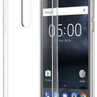 Protectie Spate Nokia Hybrid Crystal CC-704 pentru Nokia 5 (Transparent)