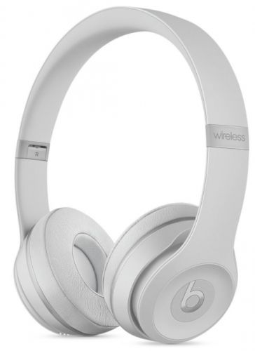 Casti Wireless Beats Solo 3 by Dr. Dre (Argintiu Mat)