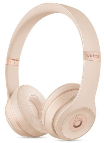 Casti Wireless Beats Solo 3 by Dr. Dre (Auriu Mat)