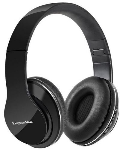 Casti Stereo Kruger&Matz KM0622, Bluetooth (Negru)
