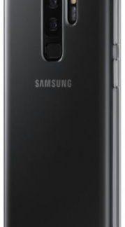 Protectie Spate Samsung Clear EF-QG965TTEGWW pentru Samsung Galaxy S9 Plus (Transparent)