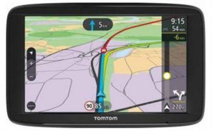 Sistem de Navigatie TomTom Via 62, Capacitive Touchscreen 6inch, 16GB Flash, Actualizari gratuita a hartilor, Harta Europa