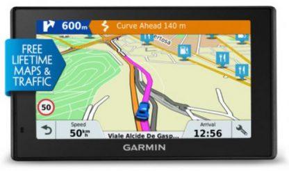 Sistem de navigatie Garmin DriveSmart 51 LMT-S EU, TFT 5inch, Harta Full Europa, Actualizari pe Viata a Hartilor