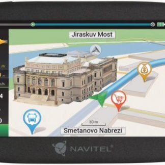 "Sistem de navigatie Navitel E500, Touchscreen 5"", Procesor 800 MHz, 128GB RAM, 8GB Flash, Windows CE 6.0, Actualizari pe viata a hartilor, Harta Full Europa"