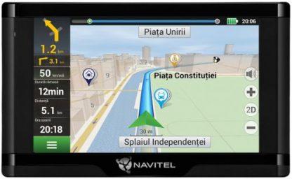 "Sistem de navigatie Navitel E500 Magnetic, Touchscreen 5"", Procesor 800 MHz, Memorie interna 8 GB, Harta Full Europa"