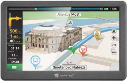 "Sistem de navigatie Navitel E700, Touchscreen 7"", Procesor 800 MHz, 256 MB RAM, Harta Full Europa"