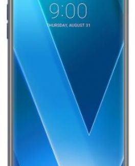Telefon Mobil Lg V30, Procesor Octa-Core 2.45GHz / 1.9GHz, P-OLED capacitive touchscreen 6inch, 4GB RAM, 64GB Flash, Camera Duala 16+13MP, 4G, Wi-Fi, Android (Albastru)