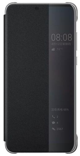 Husa Flip Cover Huawei 51992399 pentru Huawei P20 (Negru)