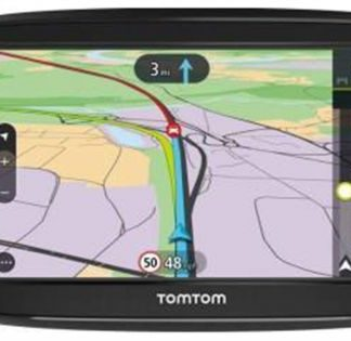 Sistem de navigatia TomTom Via 52, Capacitive Touchscreen 5inch, 16GB Flash, Actualizari pe viata a Hartilor, Harta Europa