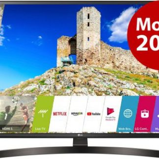 Televizor LED LG 109 cm (43inch) 43UK6470PLC, Ultra HD 4K, Smart TV, webOS, WiFi, CI+