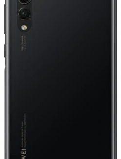 Protectie Spate Huawei 51992378 pentru Huawei P20 Pro (Negru)