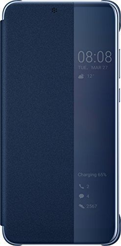 Husa Flip Cover Huawei 51992368 pentru Huawei P20 Pro (Albastru)