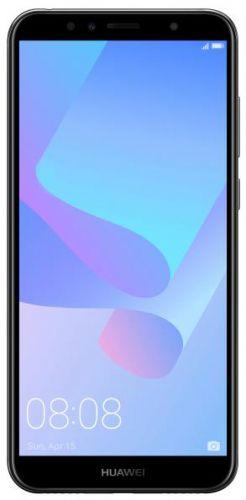 Telefon Mobil Huawei Y6 2018, Procesor Quad-Core 1.4GHz, IPS LCD Capacitive touchscreen 5.7inch, 2GB RAM, 16GB Flash, 13MP, Wi-Fi, 4G, Dual SIM, Android (Negru)