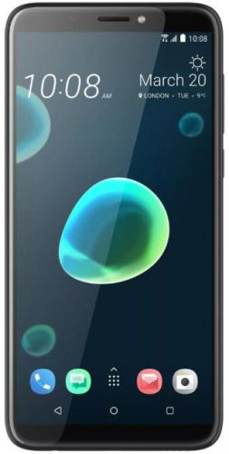 Telefon Mobil HTC Desire 12 Plus, Procesor Octa-Core 1.8GHz, LCD IPS Capacitive Touchscreen 6inch, 3GB RAM, 32GB Flash, Camera Duala 13+2MP, 4G, Wi-Fi, Dual Sim, Android (Cool Black)