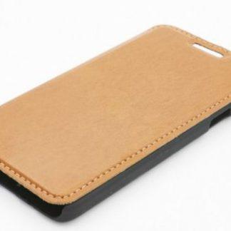 Husa Book Cover Tellur TLL112032 pentru Samsung Galaxy A3 (Maro)