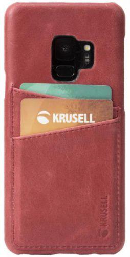Protectie Spate Krusell Sunne 2 Card KRS61263 pentru Samsung Galaxy S9 (Rosu)