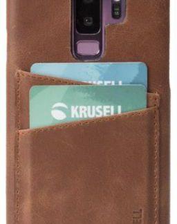 Protectie Spate Krusell Sunne 2 Card KRS61270 pentru Samsung Galaxy S9 Plus (Maro)