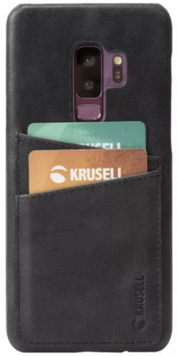 Protectie Spate Krusell Sunne 2 Card KRS61267 pentru Samsung Galaxy S9 Plus (Negru)