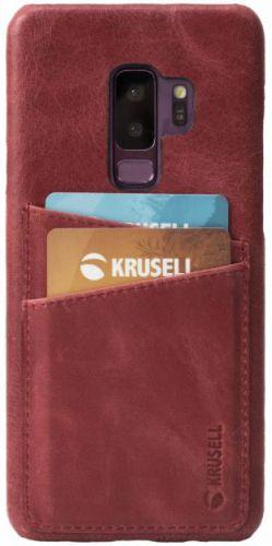 Protectie Spate Krusell Sunne 2 Card KRS61268 pentru Samsung Galaxy S9 Plus (Rosu)