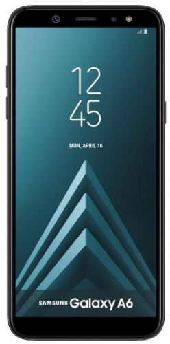 Telefon Mobil Samsung Galaxy A6 (2018), Procesor Octa-Core 1.6GHz, Super AMOLED capacitive touchscreen 5.6inch, 3GB RAM, 32GB Flash, 16MP, 4G, Wi-Fi, Dual SIM, Android (Negru)