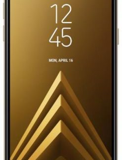 Telefon Mobil Samsung Galaxy A6 (2018), Procesor Octa-Core 1.6GHz, Super AMOLED capacitive touchscreen 5.6inch, 3GB RAM, 32GB Flash, 16MP, 4G, Wi-Fi, Dual SIM, Android (Auriu)