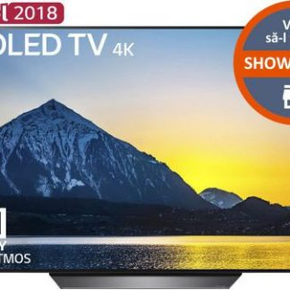 Televizor OLED LG 139 cm (55inch) OLED55B8PLA, Ultra HD 4K, Smart TV, webOS, Wi-Fi, CI+