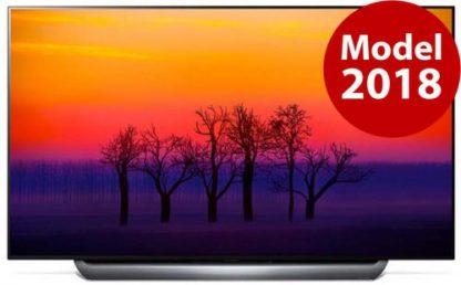 Televizor OLED LG 195 cm (77inch) OLED77C8LLA, Ultra HD 4K, Smart TV, webOS, Wi-Fi, CI+