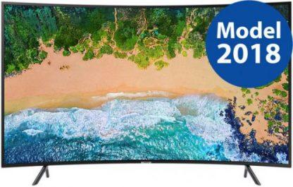 Televizor LED Samsung UE65NU7302, 165 cm (65inch), Ultra HD 4K, Smart TV, Ecran curbat, WiFi, CI+