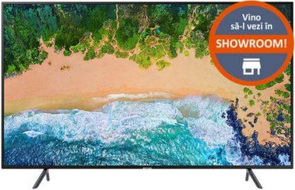 Televizor LED Samsung UE40NU7122, 101 cm (40inch), Ultra HD 4K, Smart TV, WiFi, CI+