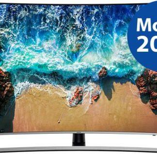 Televizor LED Samsung UE65NU8502, 165 cm (65inch), Ultra HD 4K, Smart TV, Ecran curbat, WiFi, CI+