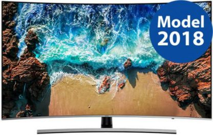 Televizor LED Samsung UE55NU8502, 139 cm (55inch), Ultra HD 4K, Smart TV, Ecran curbat, WiFi, CI+