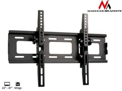 Suport Maclean MC-566, 22inch - 47inch, 65 Kg (Negru)
