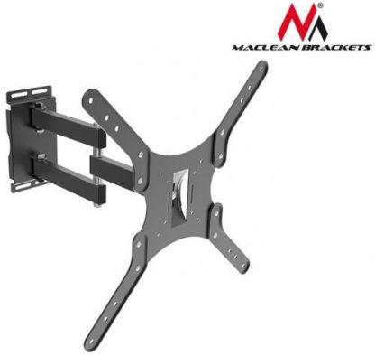 Suport Perete Maclean MC-650, 22inch - 50inch, 35 Kg (Negru)