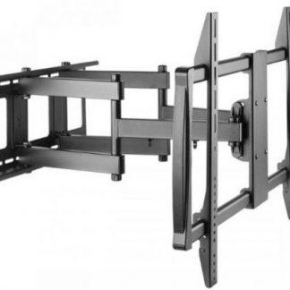 Suport Perete SBOX PLB-3769, 60inch - 100inch, Pentru TV Curbat, 80 Kg (Negru)