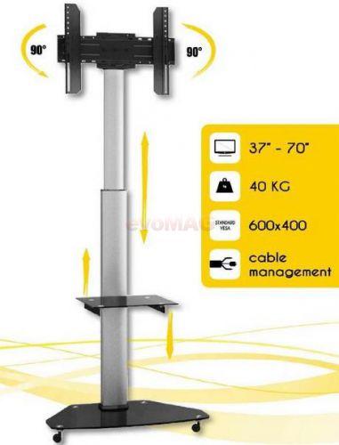 Stand TV Techly 303430, 37inch - 70inch, pivot, ajustabil