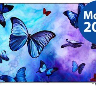Televizor QLED Samsung 139 cm (55inch) QE55Q6FNATXXH, Ultra HD 4K, Smart TV, WiFi, CI+