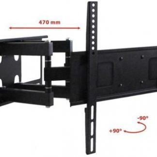 Suport Perete ART RAMT AR-70, 23inch - 55inch, 45 Kg (Negru)