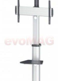 Stand TV Manhattan 461245, 37inch - 70inch, 50 kg (Argintiu)