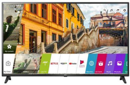 Televizor LED LG 139 cm (55inch) 55UK6200PLA, Ultra HD 4K, Smart TV, WiFi, CI+